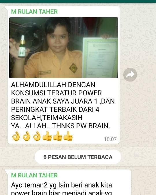 kesaksian Power Brain